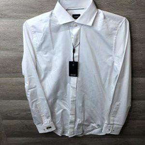 Joop! Size 40 Easy Iron Slim Fit Pano Dress Shirt